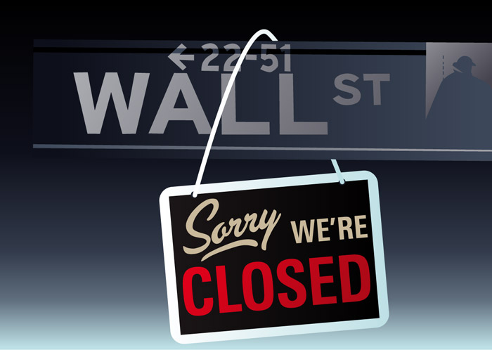 markets-closed