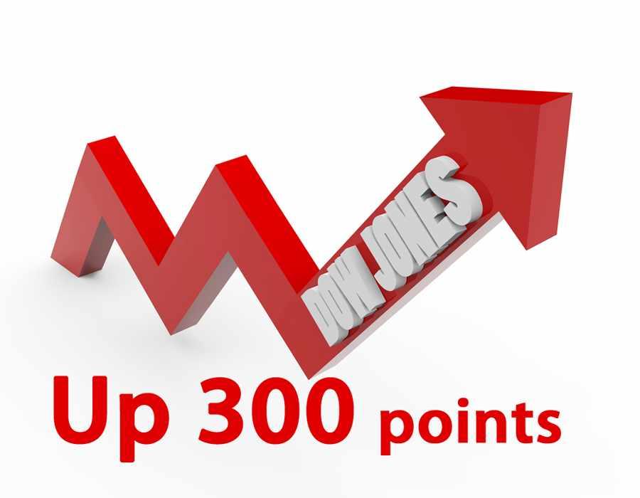 dow-jones-up-300-points
